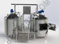 Micro-brewery for production 170-240 liters of beer per day