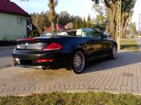 BMW E64 640   5,0 benz./ GAZ  Cabrio 2008r. LIFT